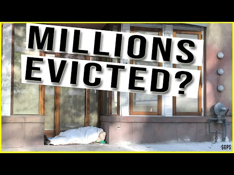 Millions of American Face EVICTION in 1 Month! Massive Food Bank Lines All Across U.S.