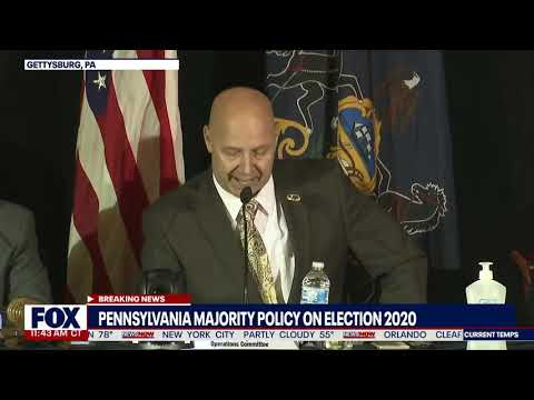 PENNSYLVANIA — Dominion Software Was Never Voted On — GOVERNOR MANDATED IT