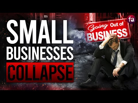 Small Businesses Collapse! Rising Unemployment & The Financial Victims of the Economic Catastrophe