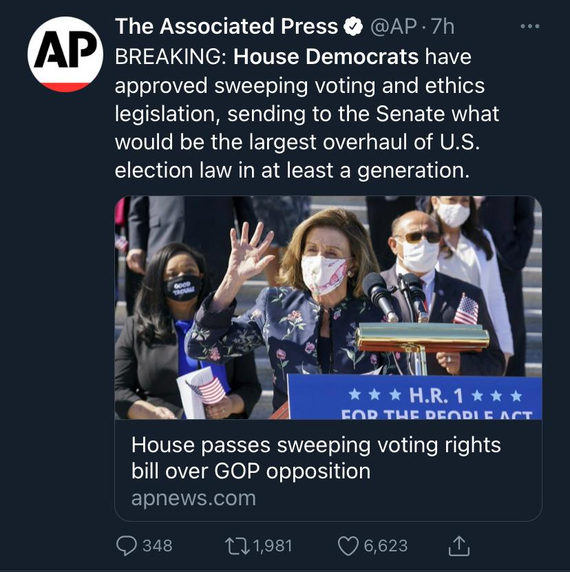 Isn't this… a violation of the US Constitution? State Legislatures control elections, not Congress.